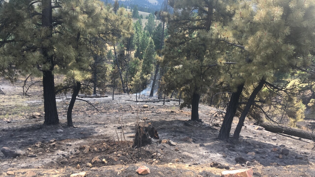 Lightning sparks new fires in the Helena area