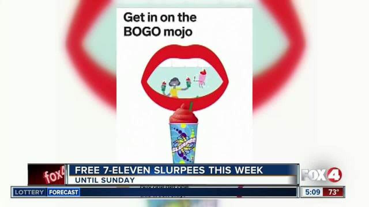 Get BOGO Slurpees this week for back to school