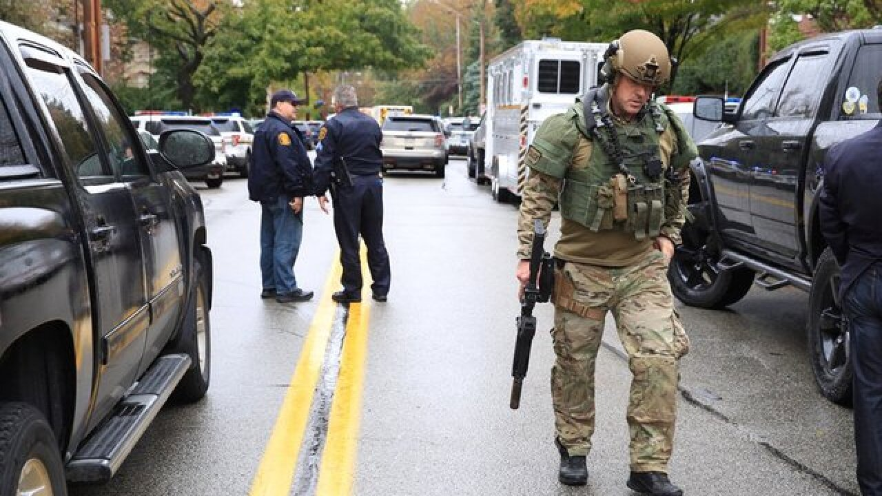 Pittsburgh synagogue shooting: At least 4 dead