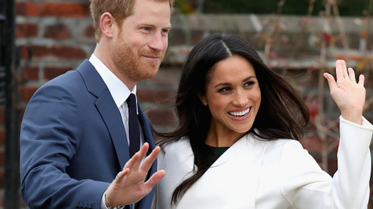 Prince Harry, Meghan Markle announce wedding date