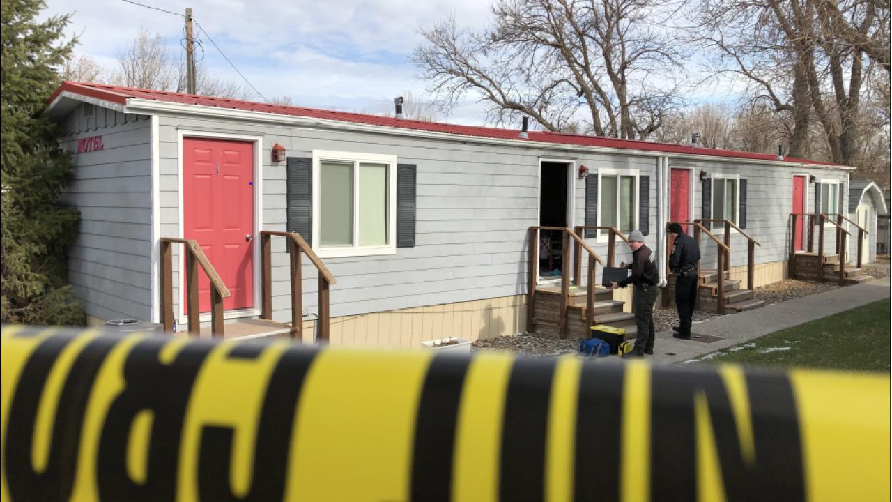 Investigation underway after a man was found dead in a Ballantine motel