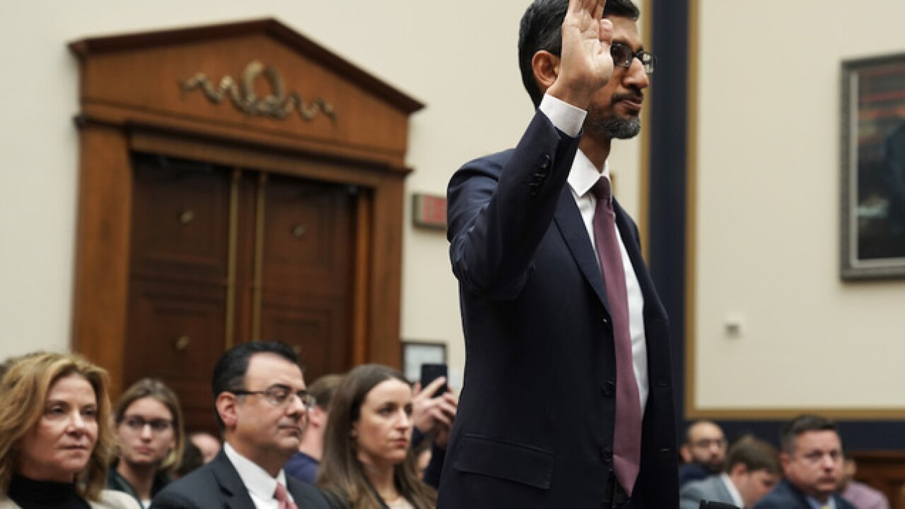 Google CEO Sundar Pichai grilled by Congress on privacy, bias and China plans