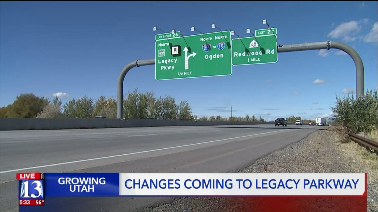 Organization says UDOT move to allow trucks and higher speeds on Legacy Parkway is irresponsible