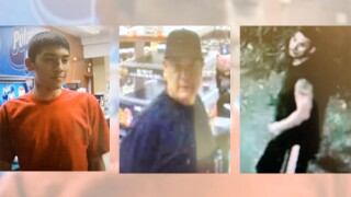Tucson police are looking for three men who worked together on an armed robbery at a convenience store.