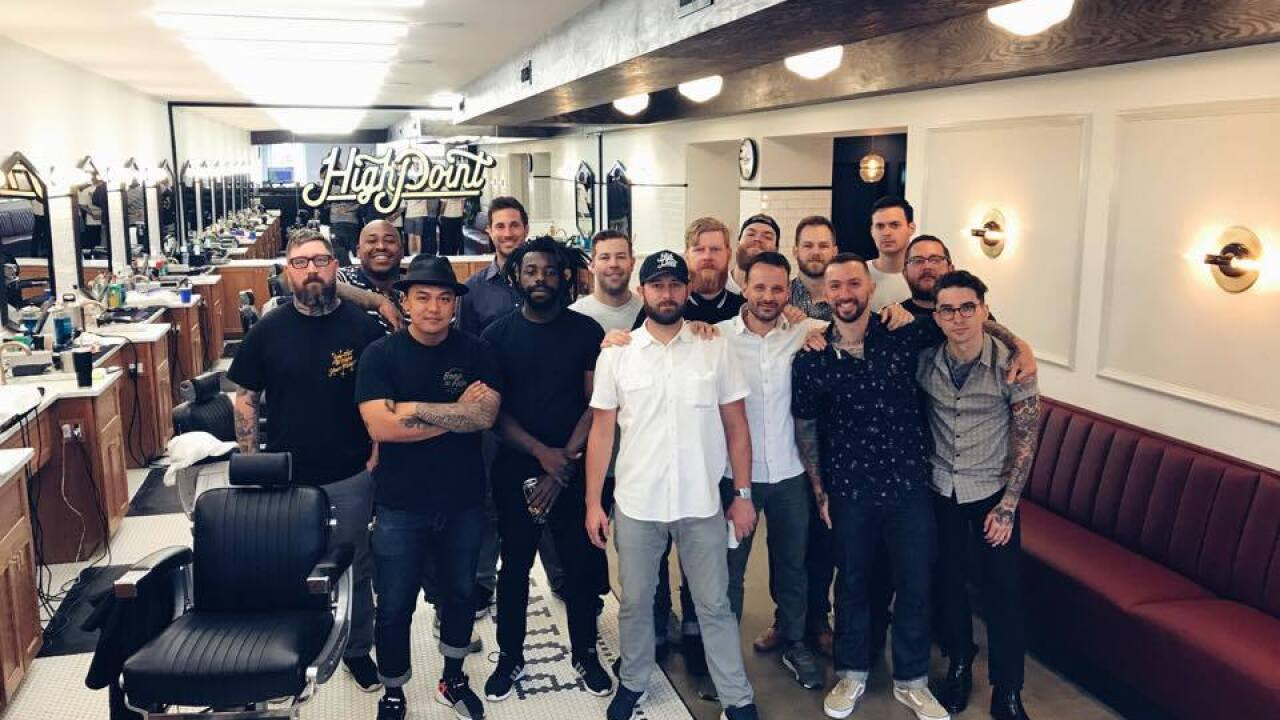 High Point Barbershop takes over CBS 6 Instagram