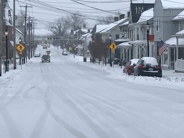 Maryland's first snow of 2017