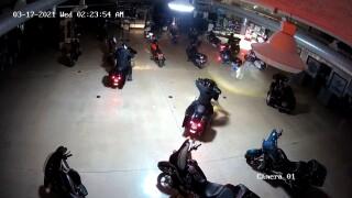 Kokomo Harley-Davidson theft