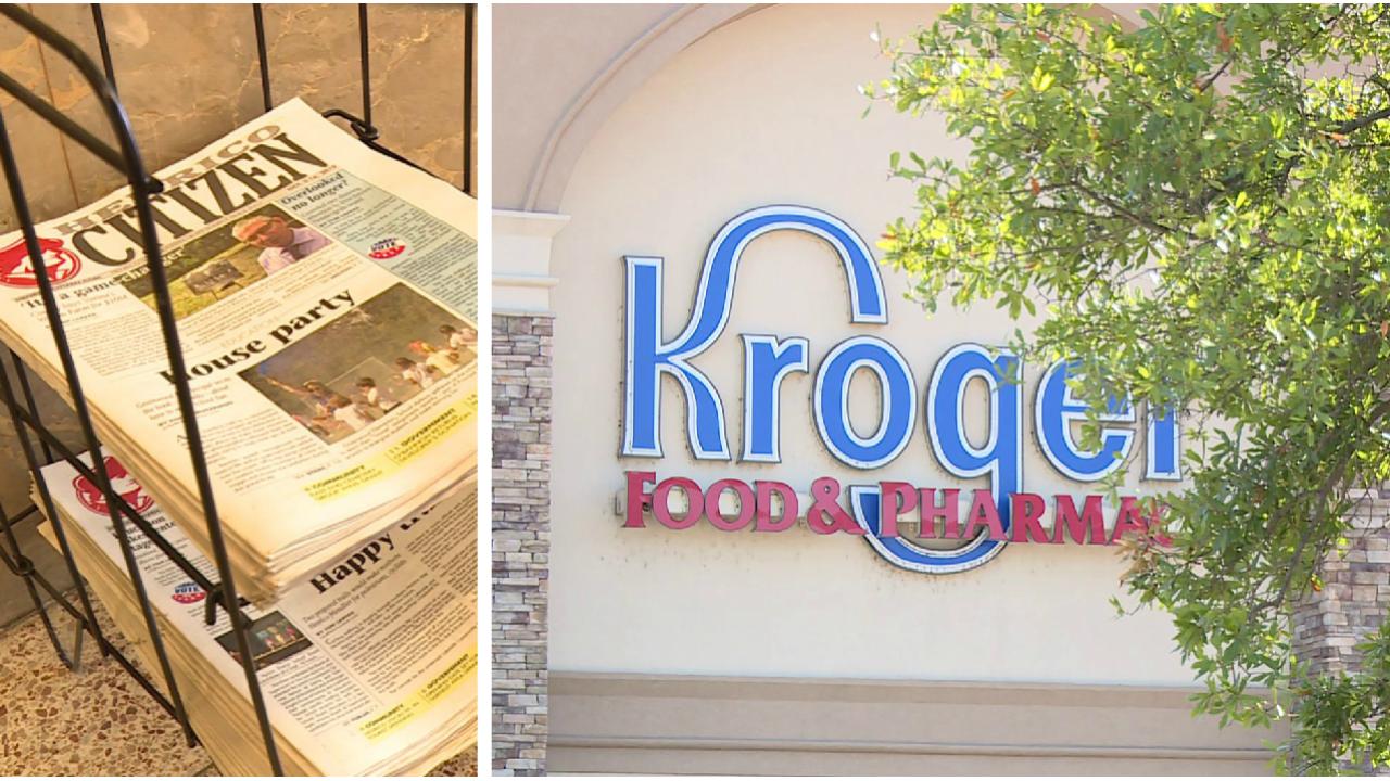 Henrico Citizen newspapers no longer on racks in Kroger: 'It's ablow'