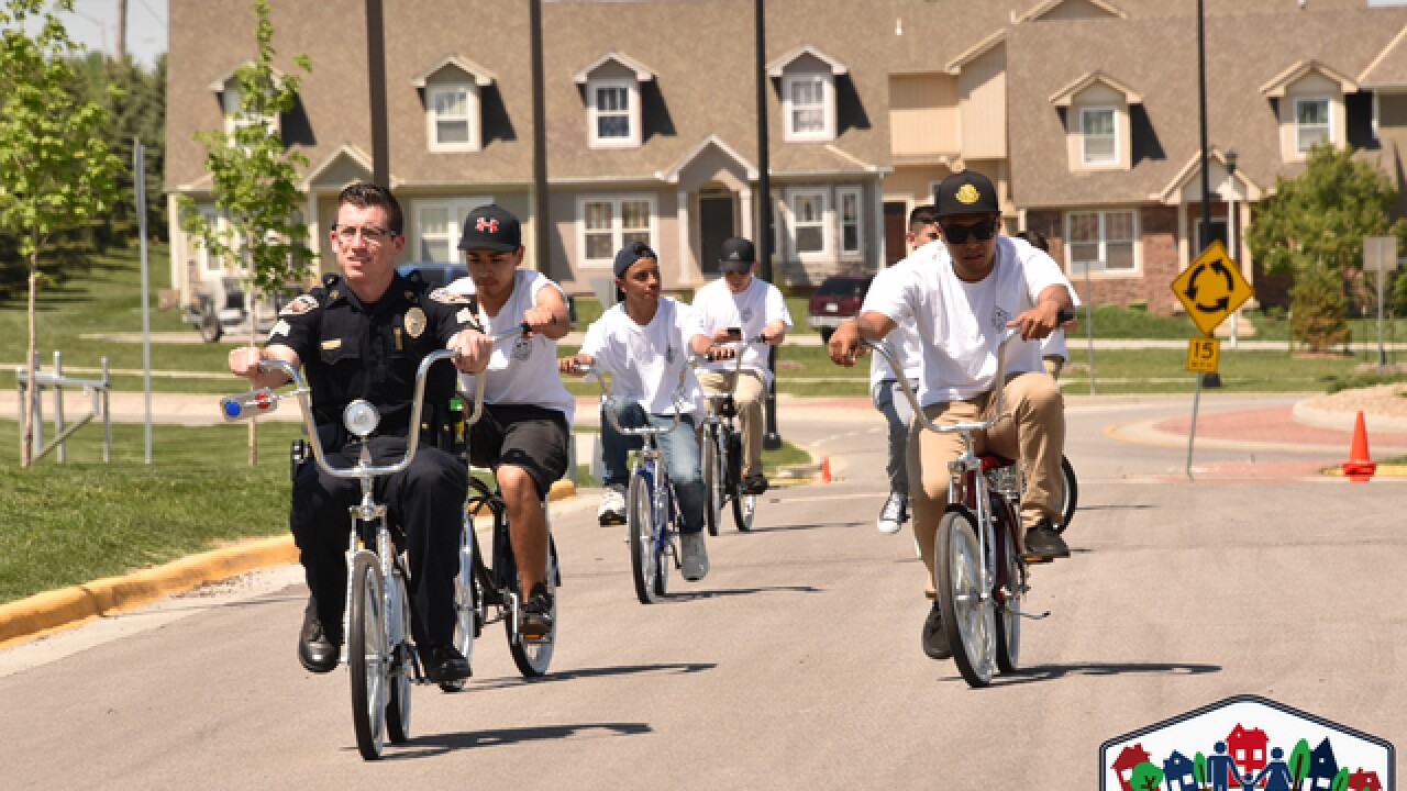 Bikes are helping police reach teens in Olathe