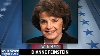 Dianne Feinstein wins another Senate term in California