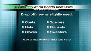 Business Now: Check City Warm Hearts Coat Drive