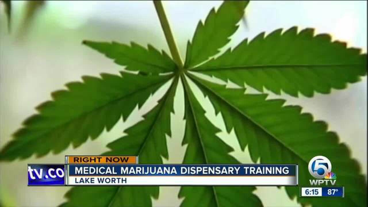 HempStaff holds medical marijuana dispensary training in West Palm Beach
