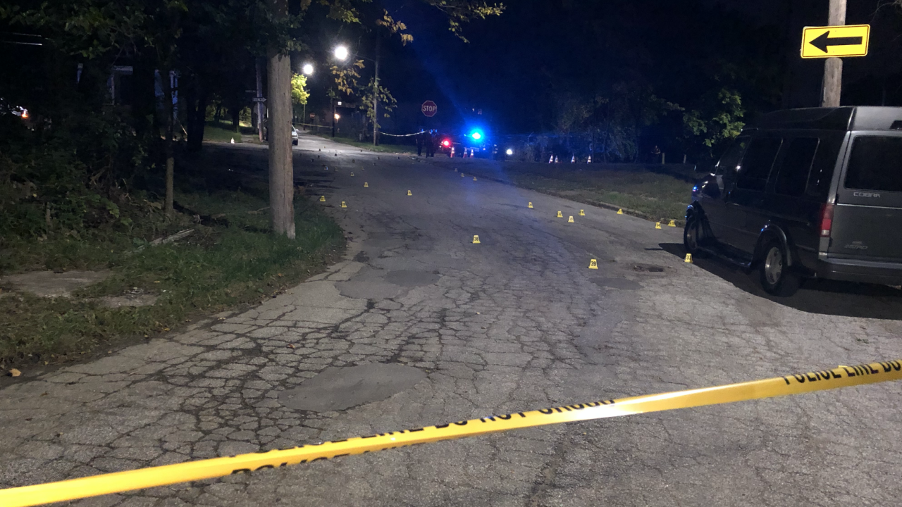 Cumberland Avenue shooting