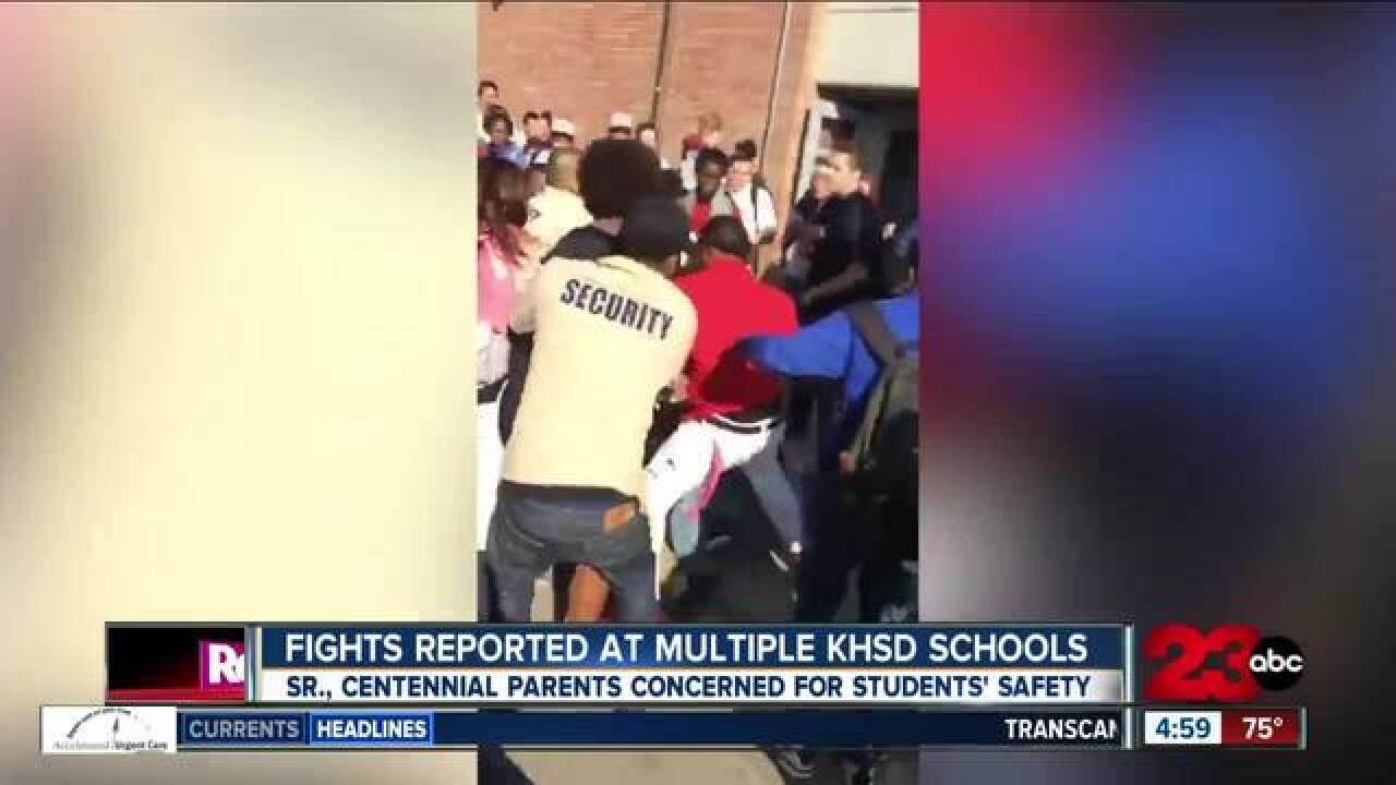 Brawls Fill Bakersfield Schoolyards