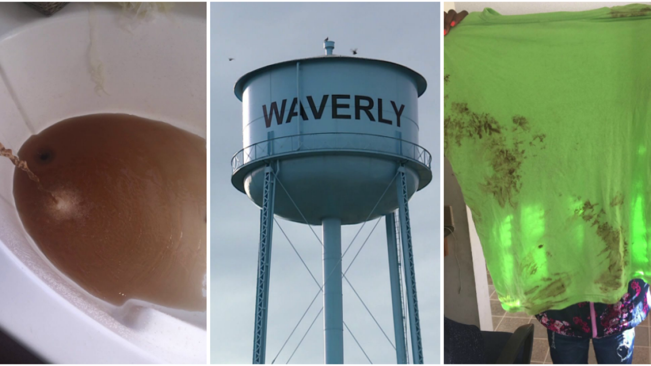 Two years later, brown water still coming out of Waverlyfaucets