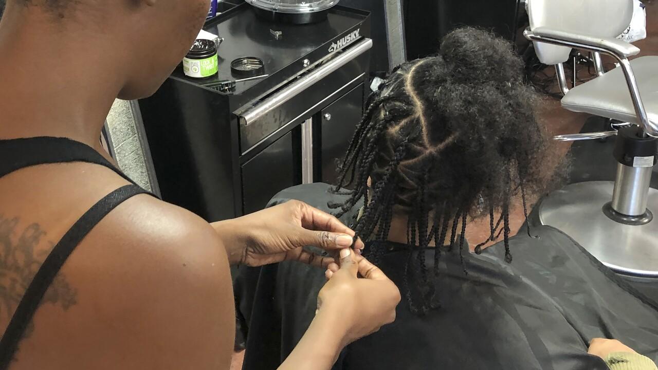 Racial Injustice Hair Salons
