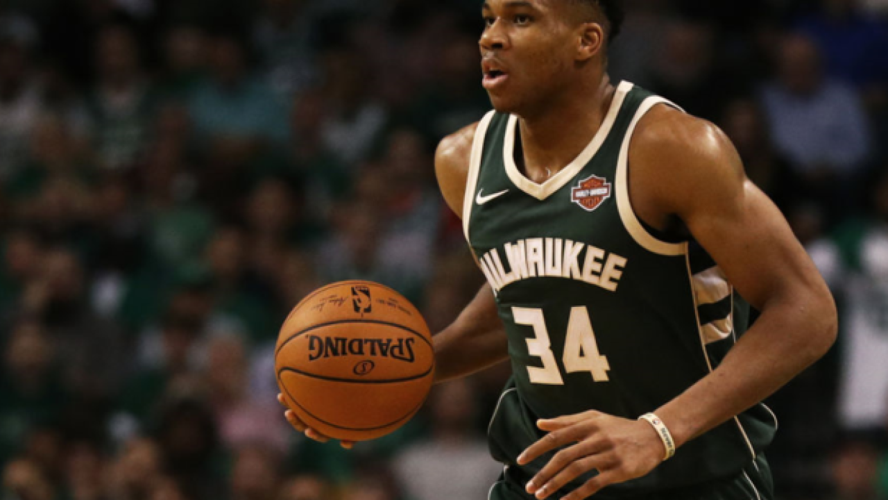 Bucks' Antetokounmpo, Brogdon out Saturday