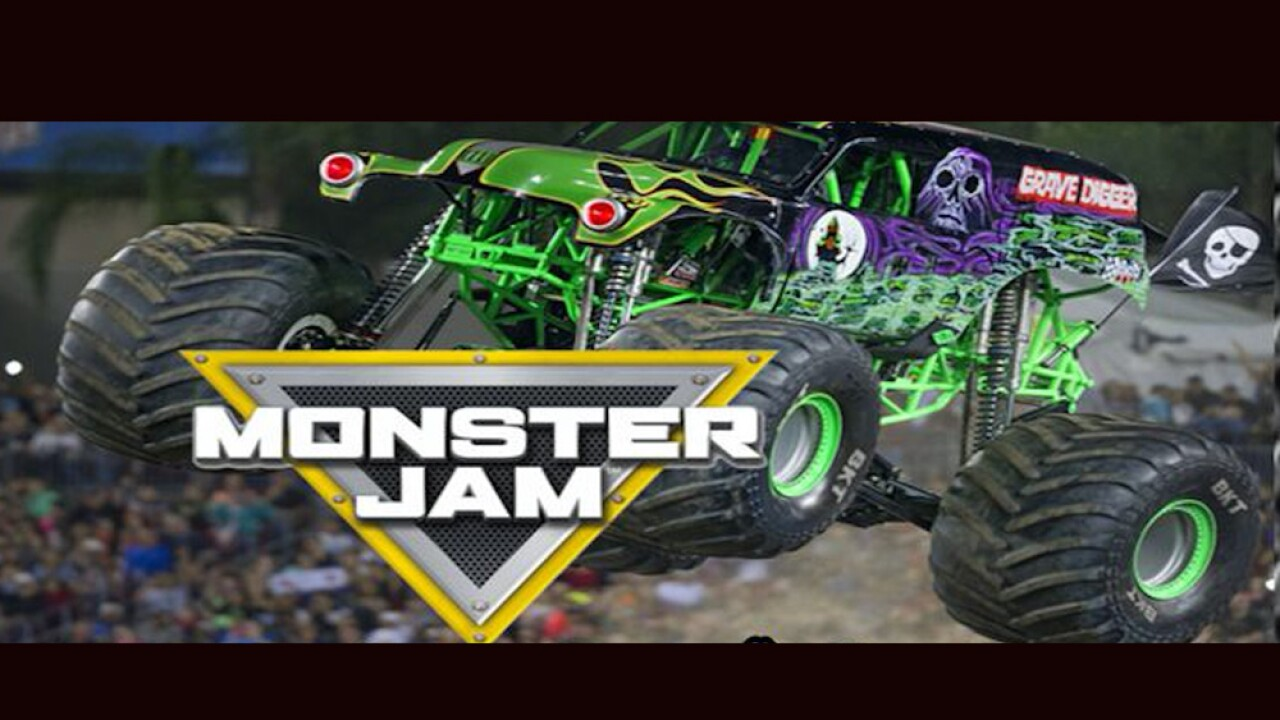 2 Monster Jam S Grave Digger At Macomb Mall In March