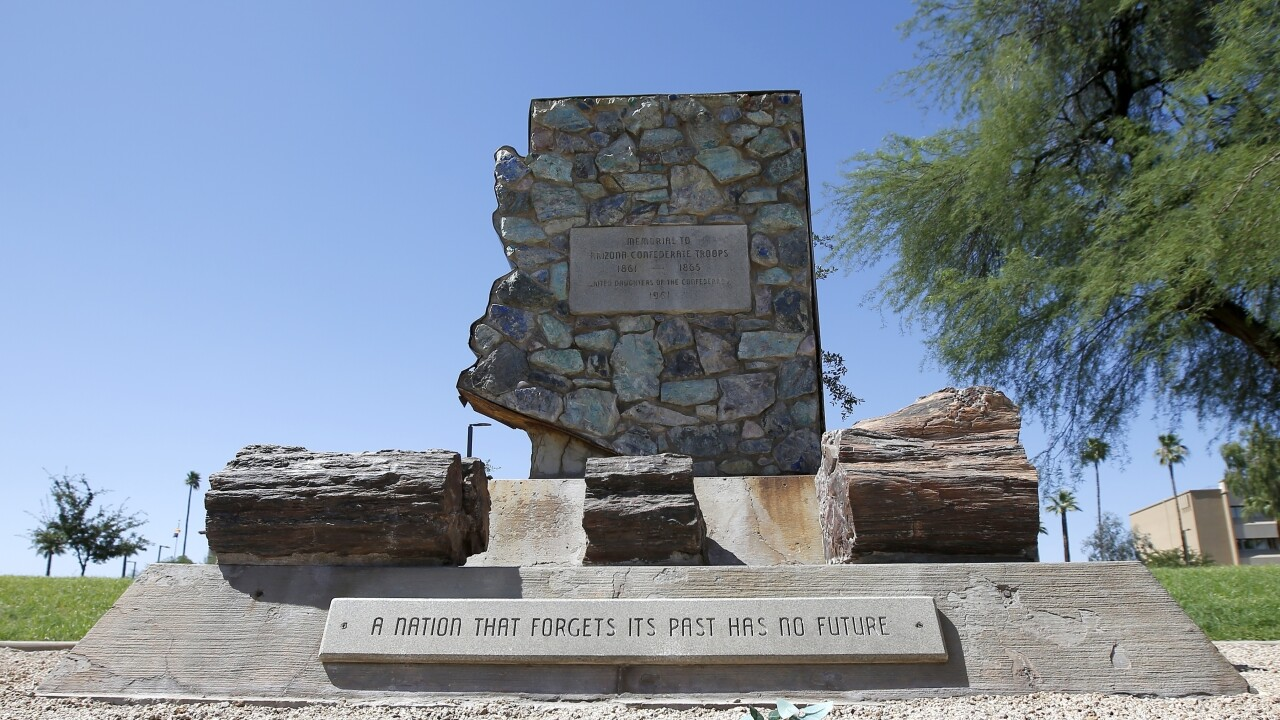 Republicans in the Arizona Legislature are reacting to last year's wave of damage to Confederate monuments by civil rights protesters by trying to make it a felony to damage any public or private monument.