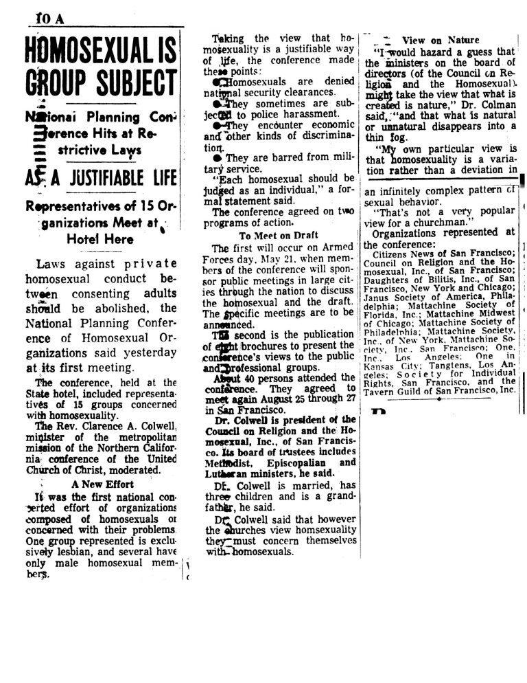 NACHO article 1966