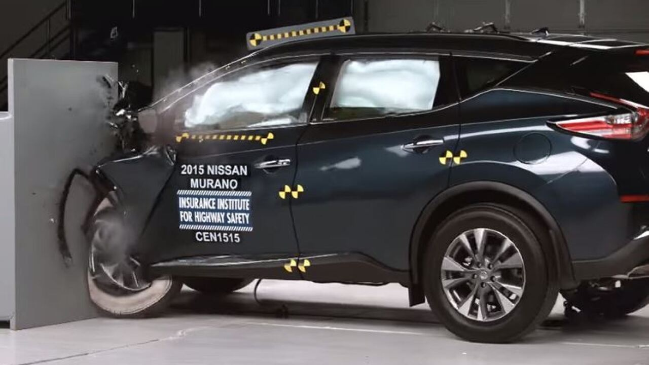 Drive one of these? Only 3 of 7 midsize SUVs performed well in crash tests