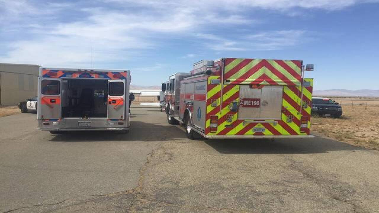 Reports of plane down at Mojave Space Port