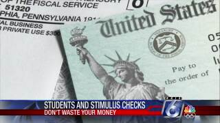 Don't Waste Your Money: Cashing in on student stimulus checks