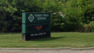 Forest Hills Central High School sign.JPG