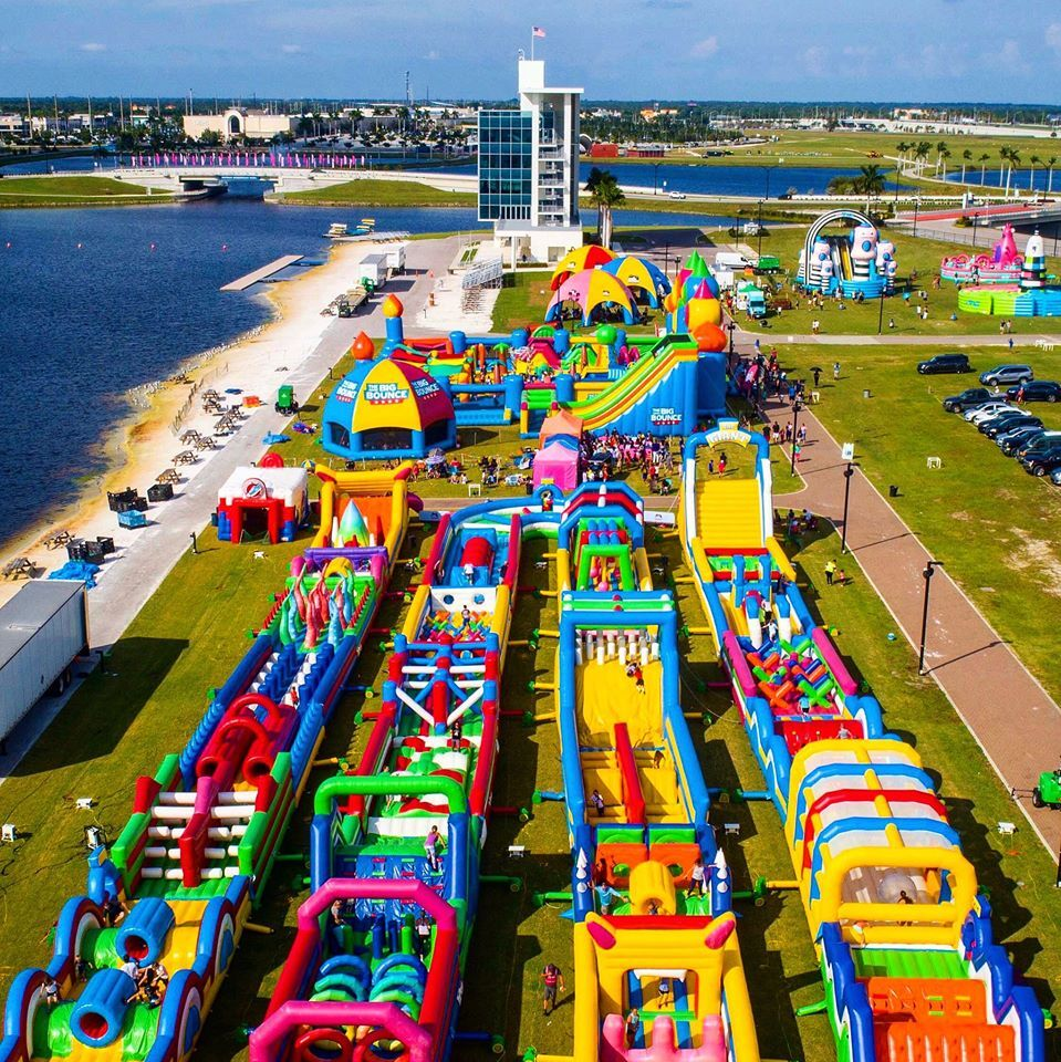 Largest Bounce House In America Coming To Texas This Spring