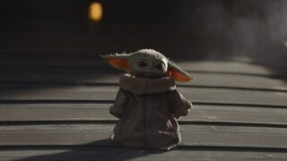 Baby Yoda picture Mandalorian