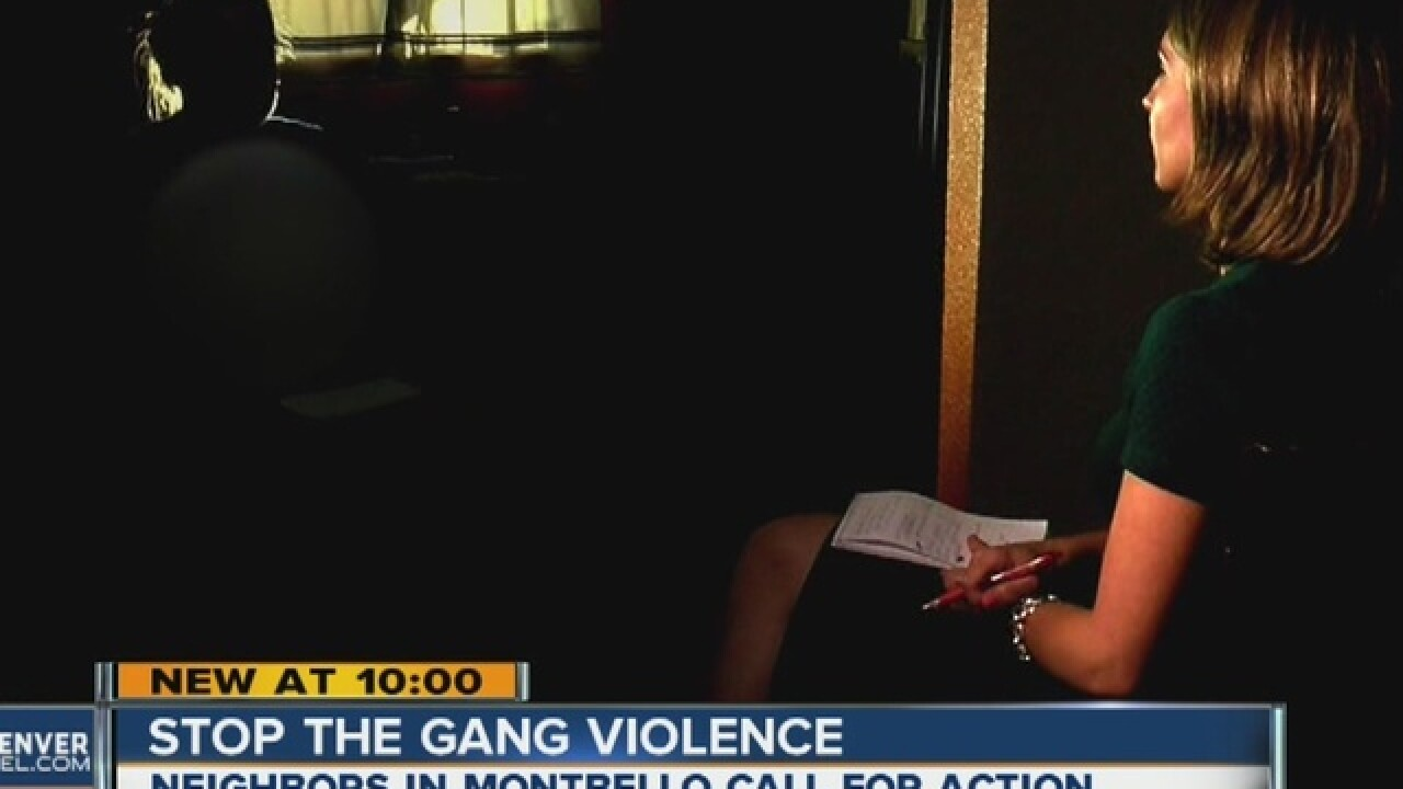 Montebello neighbors want gang violence to stop