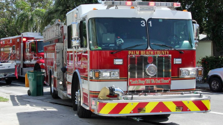 Palm Beach County firefighters rescue two women from smoke-filled room, fire rescue says