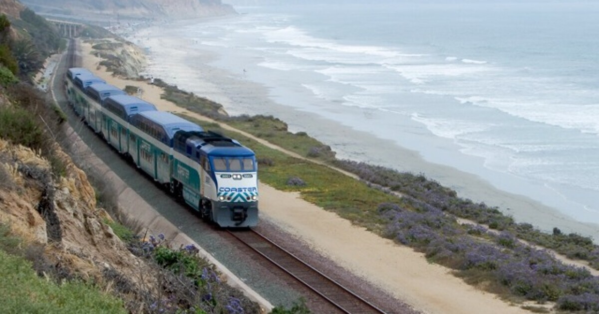 Weekend rail service suspended from Oceanside to San Diego