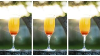 Tequila Sunrise Mimosas Are The Prettiest Brunch Cocktail