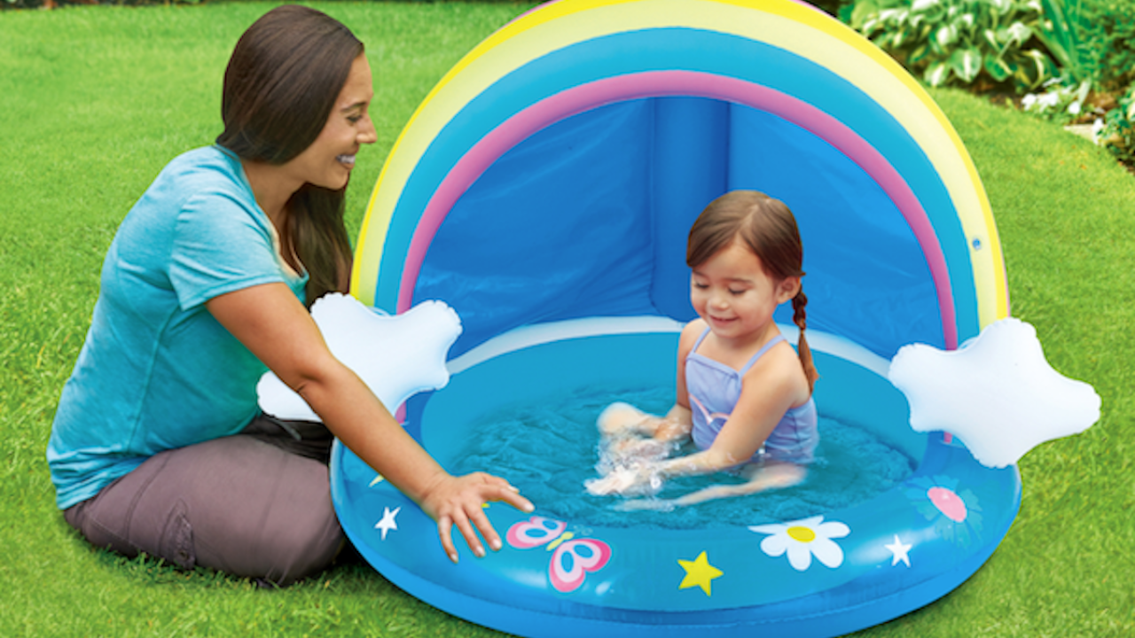 Cute Inflatable Baby Pools Are On Sale For $10 At Walmart (Regularly $26)