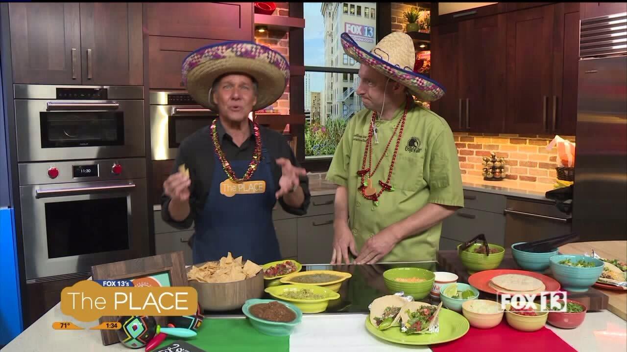 Cinco de Mayo tacos with CostaVida