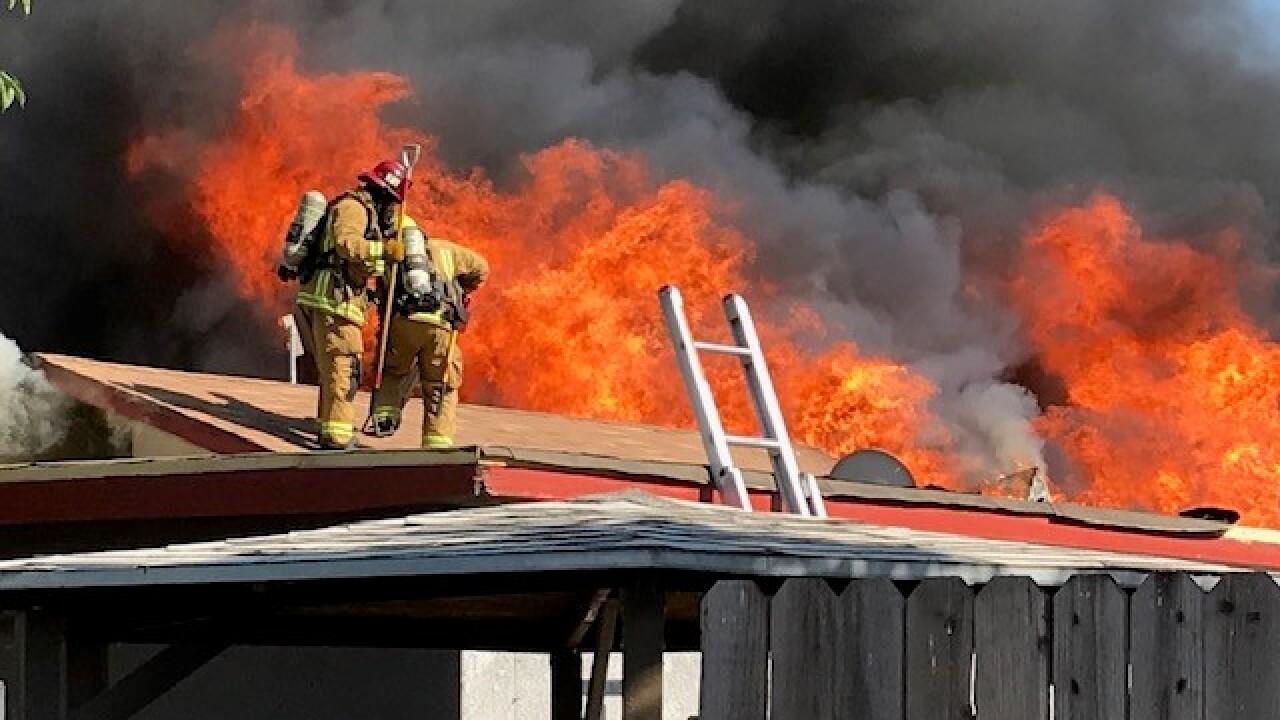 Lake Street Fire
