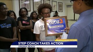 People Taking Action: Local step coach teaches more than fancy dance moves