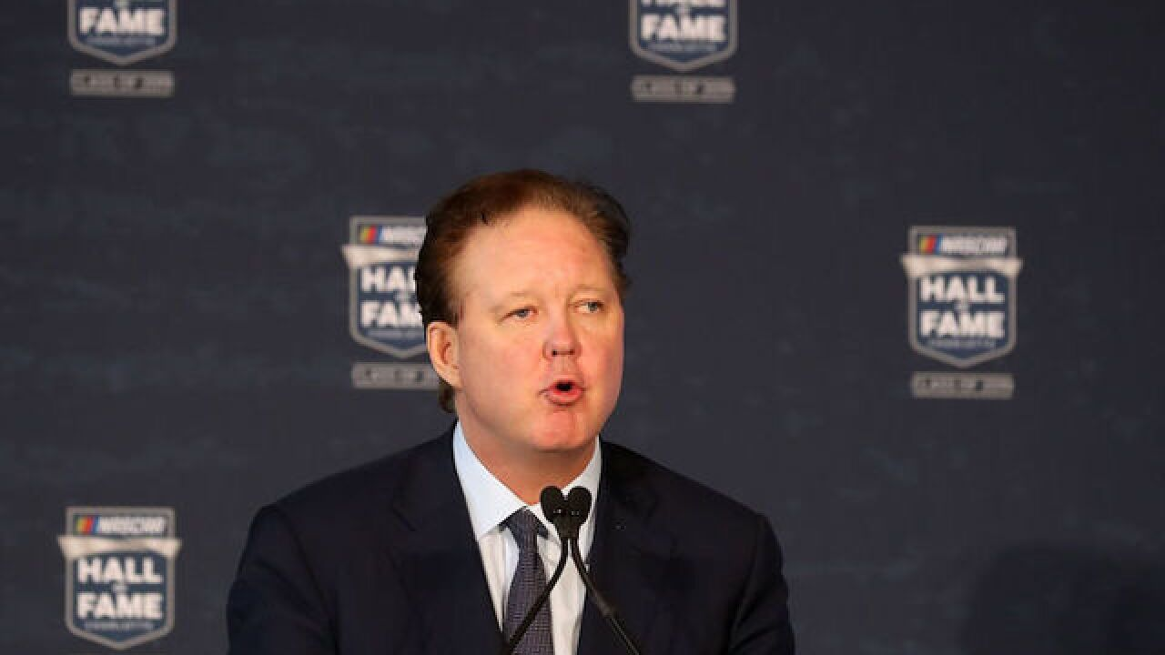 NASCAR CEO Brian France arrested in New York for DWI, oxycodone possession