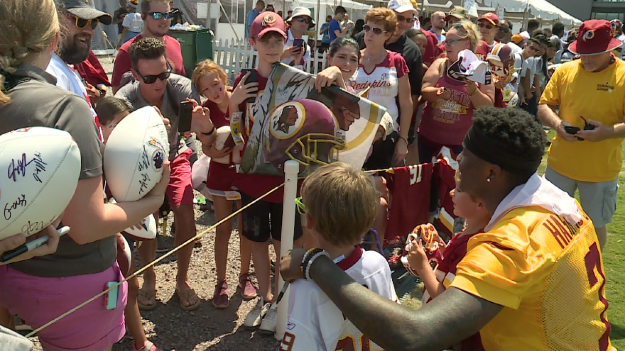 Redskins Training Camp: Day 10