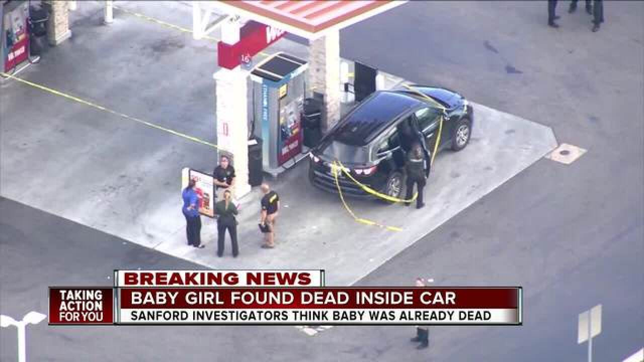 1-year-old dies after being pulled from hot car, 2nd hot car death reported in Florida on Friday