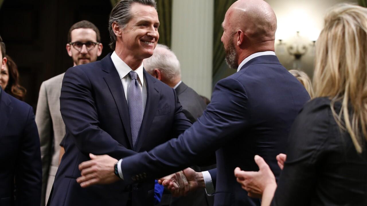 California Gov. Gavin Newsom