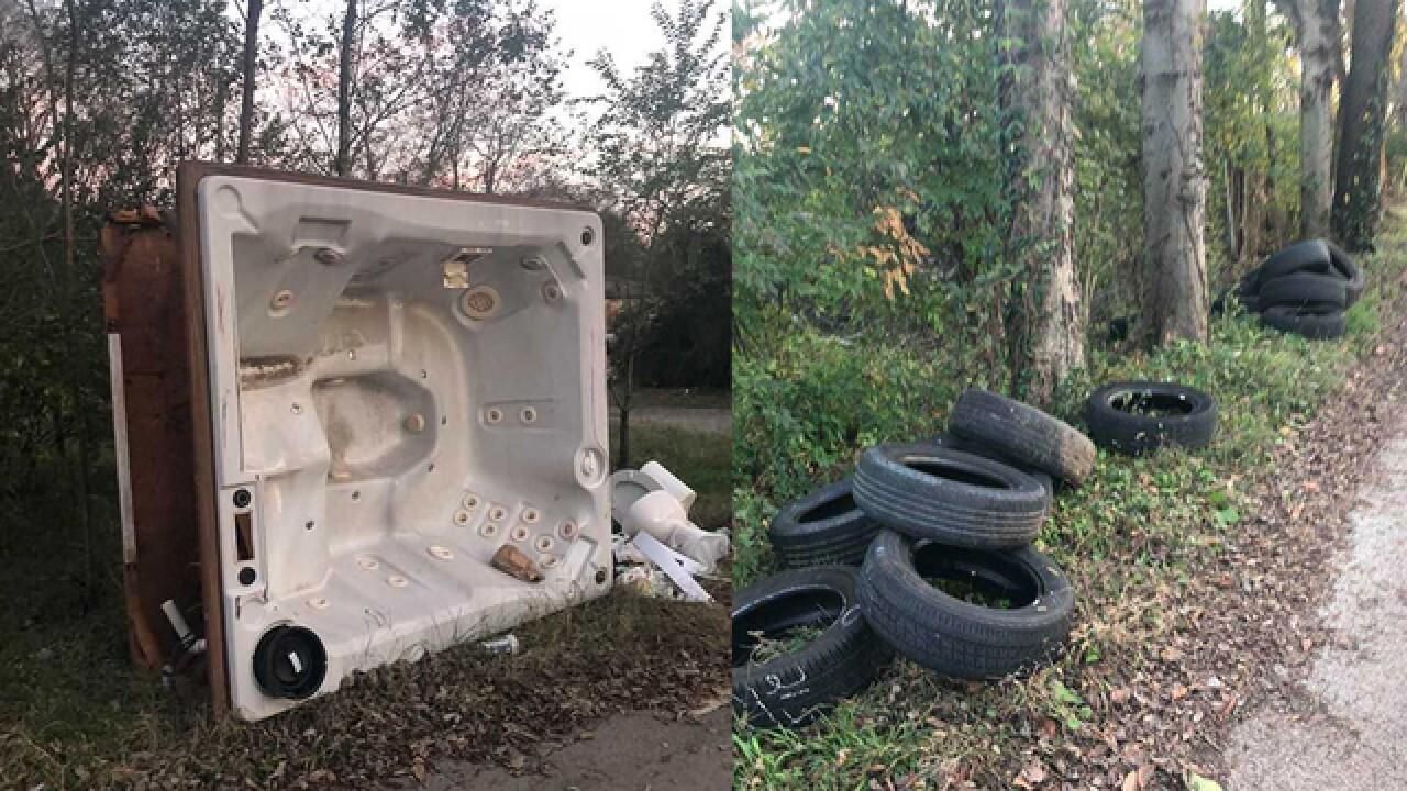 East Nashville residents upset over illegal dumping