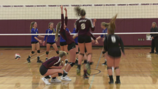 Manhattan Christian wins Western C divisional volleyball title