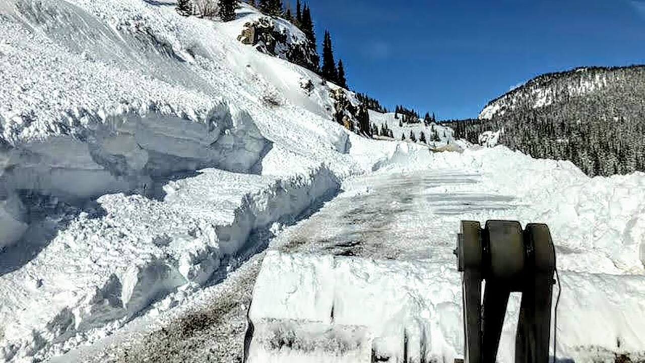 CDOT to close stretch of US 550 Monday between Ouray and Ironton for