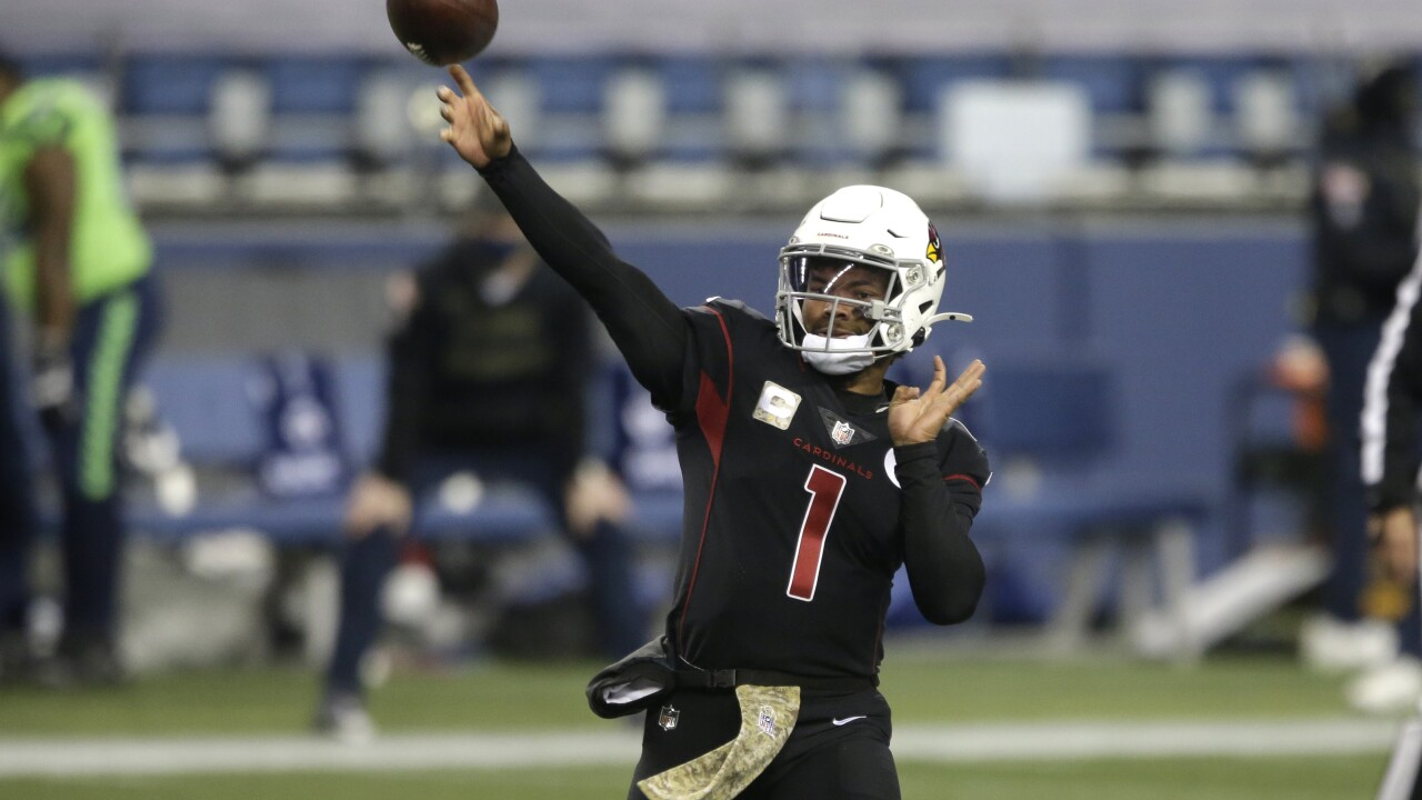 "Cardinals QB Kyler Murray files trademark for ""Hail Murray"" catchphrase"
