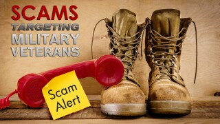 Scams targeting military veterans