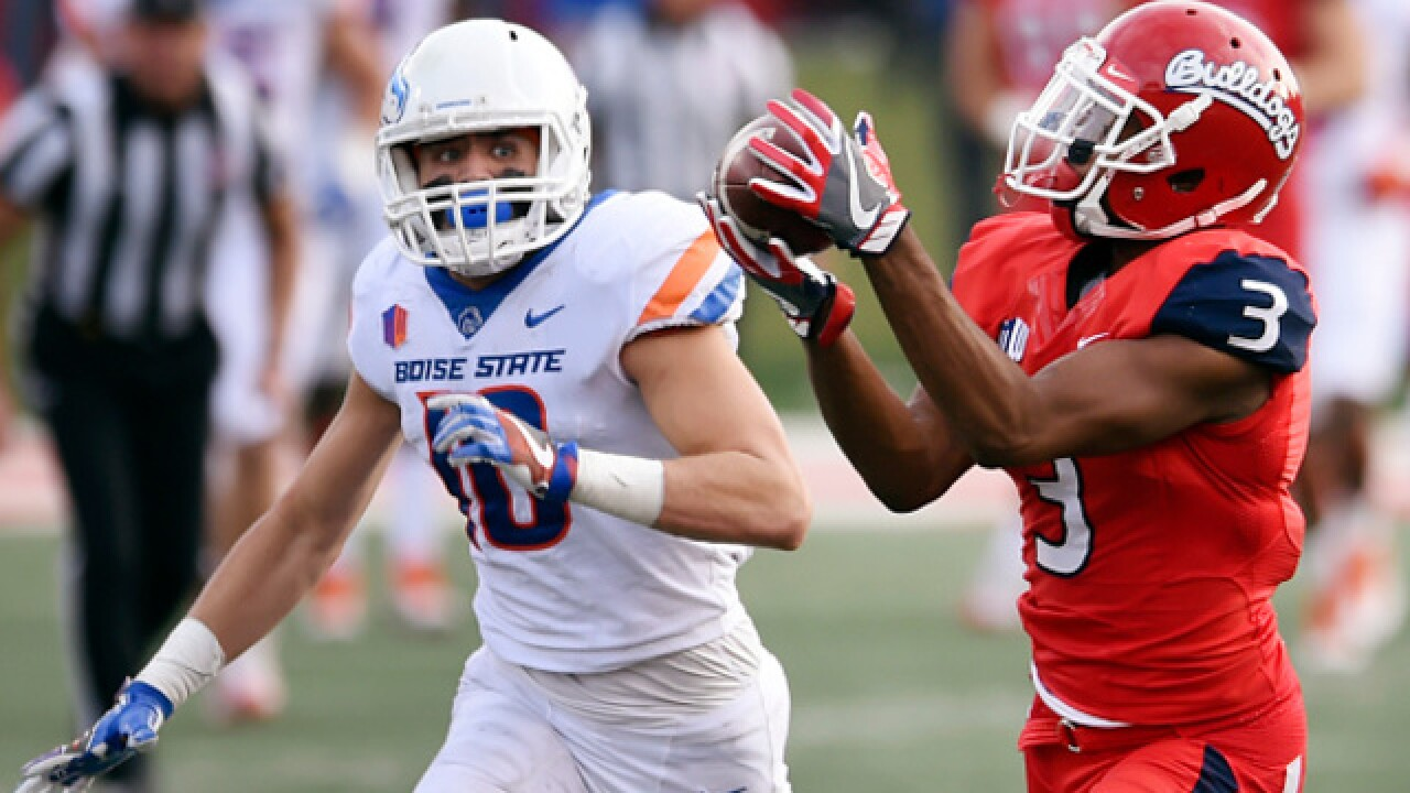 Fresno State beats No. 25 Boise State 28-17 in title preview