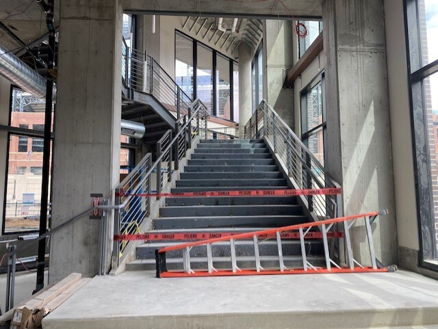 Tattered Cover staircase