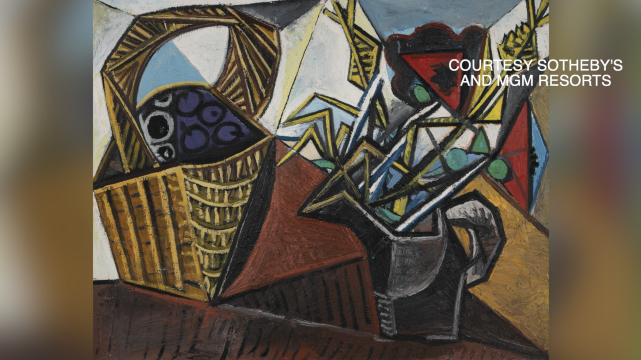 $100 million in Pablo Picasso artwork to be auctioned off in Las Vegas